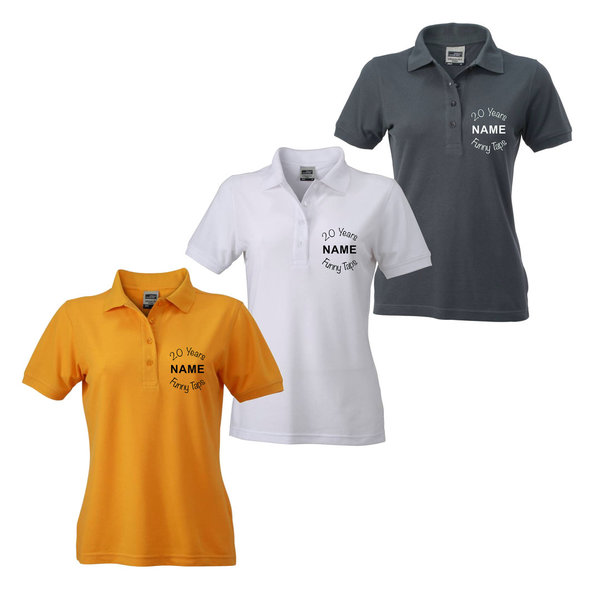 POLO SHIRT | DAMEN | Special Dance - 20 Years Funny Taps